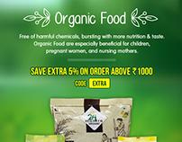 Organic Food Mailer