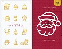 Christmas Icons 2015 (FREE)