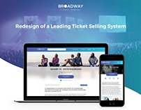 Broadway - Ticket selling website