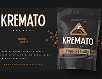 Kremato - Natural Hand Drawn Fonts