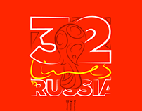 32 Lines To RUSSIA