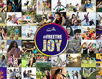 Website: Cadbury Dairy Milk #freeTheJoy