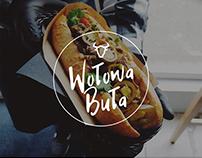 """Logo for """"Wołowa Buła"""""""
