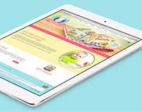 Sabor Bebê || Papinhas Orgânicas || Webdesign