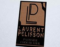 Création logo Pâtissier, Laurent Pelisson, Loolye
