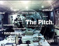 The Pitch - concept boards