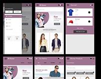 e-Commerce Mobile App Screen