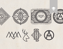 Illustrative Logos, Icons & Monograms