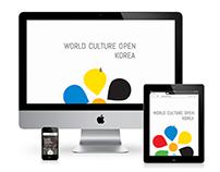 World Culture Open Korea Introduction Website 2014