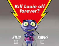 Mortein – Kill or save Louie the fly?