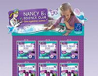 Design Direction: Nancy B's Science Club
