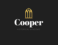 Cooper Historical Windows (Concept Logo)