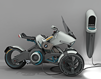 BMW 1150GEth Electric Motorcycle