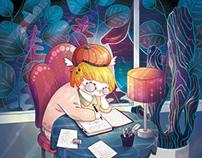 Digital illustration 1