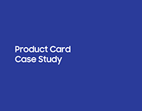 Product Card - Case Study
