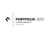 Industrial Design Portfolio 2015