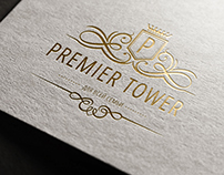 Premier Tower Logo and Branding