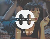Mia Wallace || Logo || Brand Identity