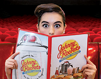 Johnny Rockets Advertisements