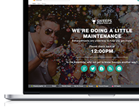 Web Maintenance Page