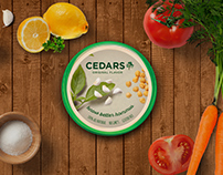 Cedar's Hommus Packaging Redesign