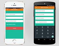 Android IOS Windows App UI Design