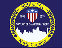 SkillsUSA State Championship T-Shirt Design (1st Place)