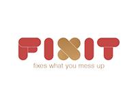 FIXIT // App Concept w. animation