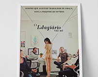 O Estagiário vai nú | Poster