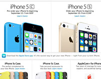 Apple - iPhone 5c & 5s