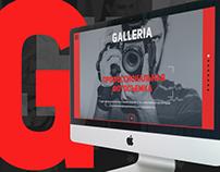 Корпоративный сайт фотостудии GALLERIA