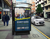 Security Guards Poster Template