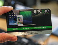 Metal Business Card With Full Color Printing