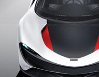 McLaren Speedtail Ash White