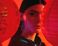 Chinese New Year Fashion Campaign for Au Pont Rouge