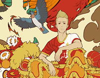 The Seventh Lion: Character Illustration