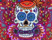 "T-Mobil ""Dia De Los Muertos Painting"""