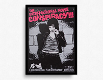 The (International) Noise Conspiracy – Gigposter
