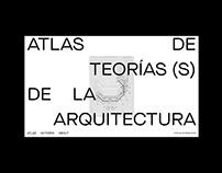 """Web design of """"Atlas de teoría(s) de la arquitectura"""""""