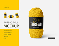 Thread Roll Mockup Set