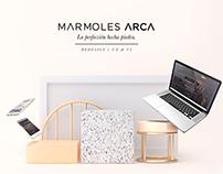Mármoles Arca | Redesign UX & UI