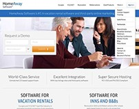 HomeAway Software Home Page Redesign