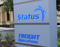 Status Transportation Sign
