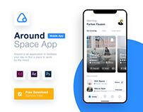 Co-working Finder App - App Design