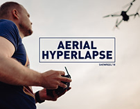 Aerial hyperlapse showreel 2018