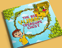 The Big Yummy Treasure Chest | Book Illustration