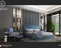 Bedroom  Penthouse by K-Render Studio (P3)