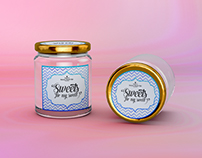 Candy Jar Labels