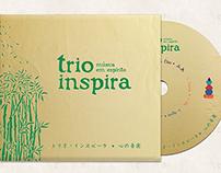 Trio Inspira - música em espírito | CD art