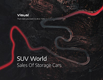 SUV WORLD - Sales of storage SUV cars